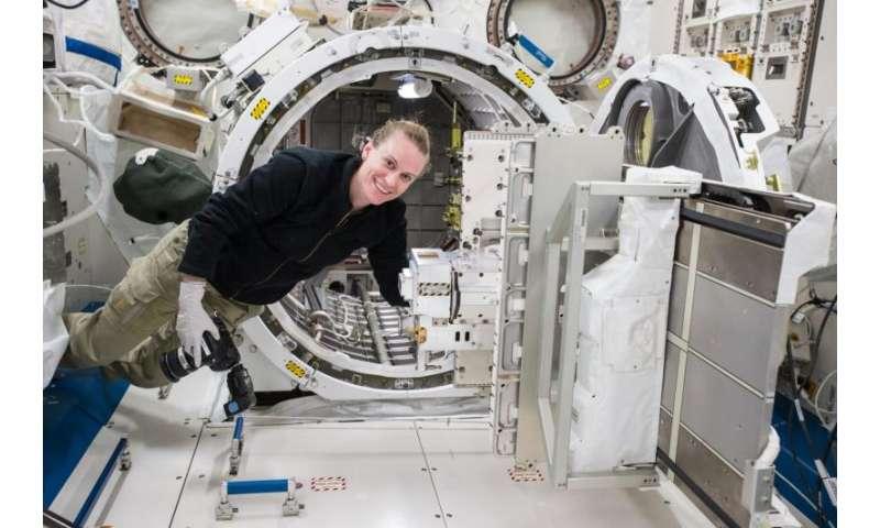 NASA's robotic 'sniffer' confirms space station leak, repair