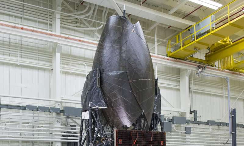 NASA's TDRS-M space communications satellite begins final testing
