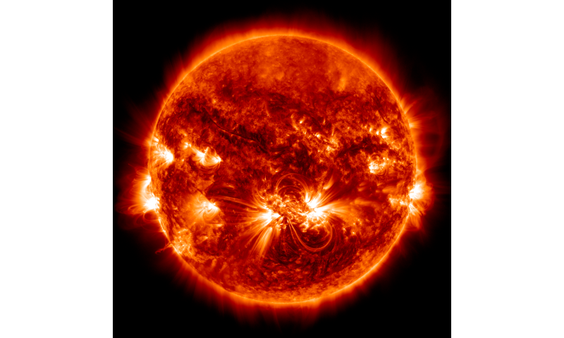 New clue to solving the mystery of the sun's hot atmosphere