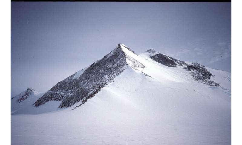 New satellite imagery reveals new highest Antarctic Peninsula Mountain