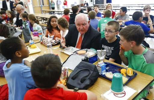 No cut in salt, fewer grains: Gov't eases school meal rules