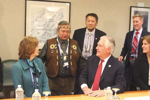 Officials from Arctic nations meet amid drilling concerns
