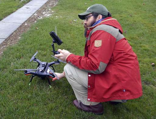 Old, meet new: Drones, high-tech camera revamp archaeology