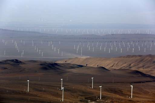 On Thursday, China announced that it would sink at least $361 billion into renewables by 2020, key to the country's transition a