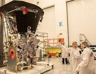 Parker Solar Probe gets its revolutionary heat shield