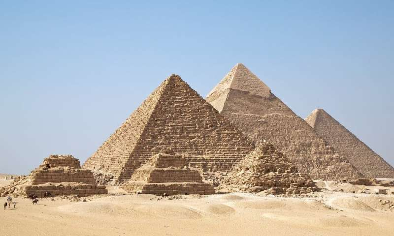 Particle physicists discover mysterious structure in Great Pyramid – here's how they did it