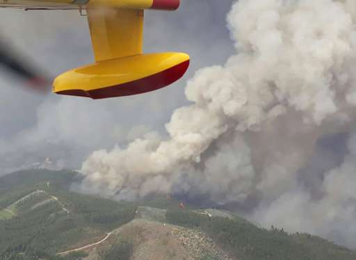 Portugal, a country helplessly prone to forest fires