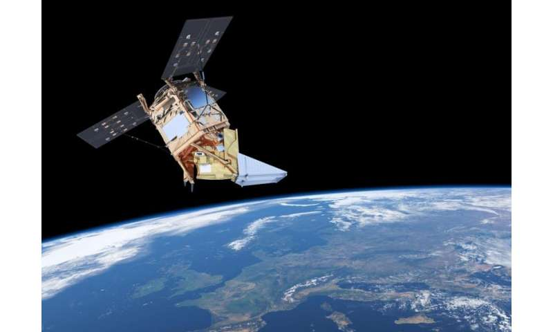 Preparing to fly Sentinel-5P