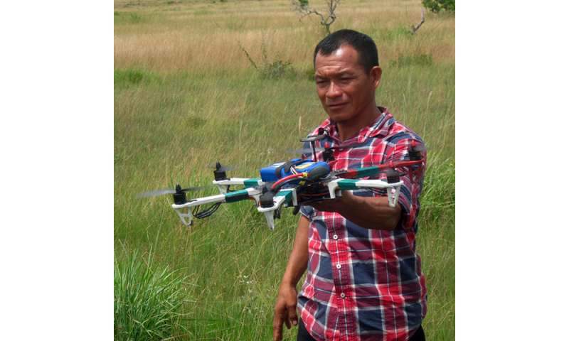 Professor uses drones to track human impact on rainforest