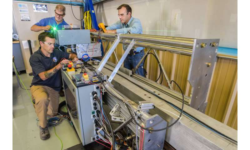 Robotics principles help Sandia wave energy converters better absorb power of ocean waves