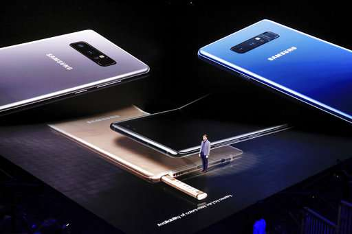 Samsung Note 8 gives its stylus some style -- for a price