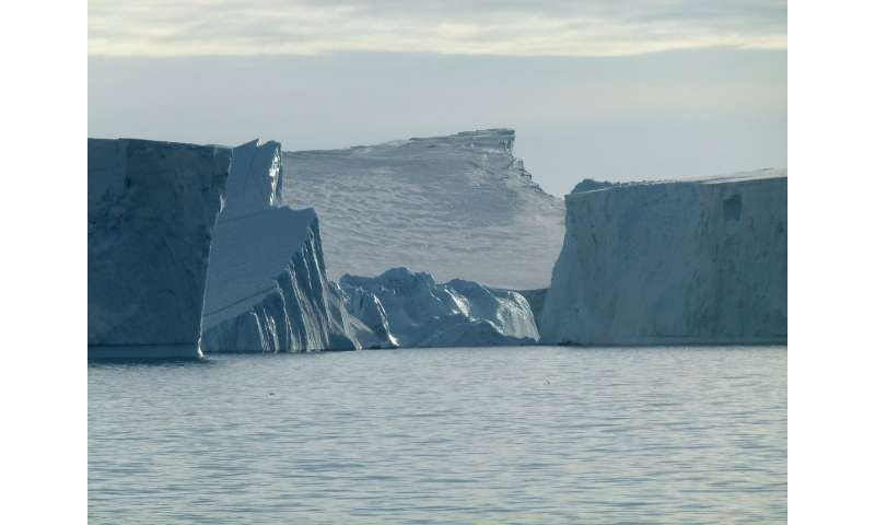 'Scars' left by icebergs record West Antarctic ice retreat