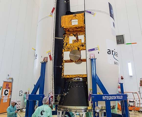 Sentinel-2B poised for liftoff