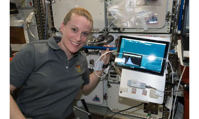 Sequencing the station: Investigation aims to identify unknown microbes in space