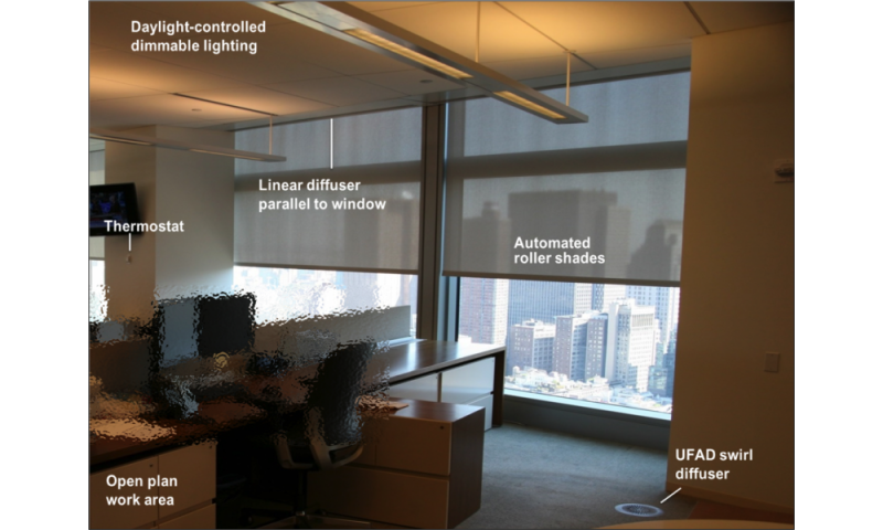 "Shading and lighting retrofits slash energy use in New York ""Living Lab"" office demonstration"