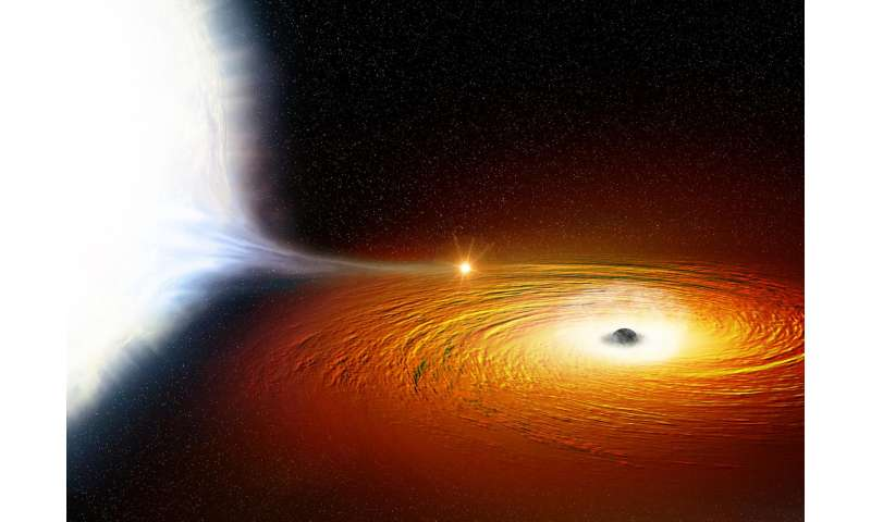 Star in closest orbit ever seen around black hole