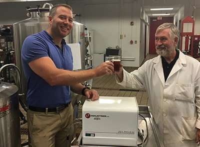 Technique gives brewers data to improve fermentation control