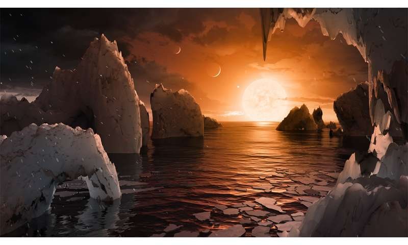 Temperate earth-sized worlds found in extraordinarily rich planetary system (Update)