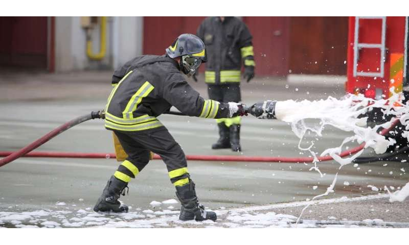 The chemicals in firefighting foam aren't the new asbestos