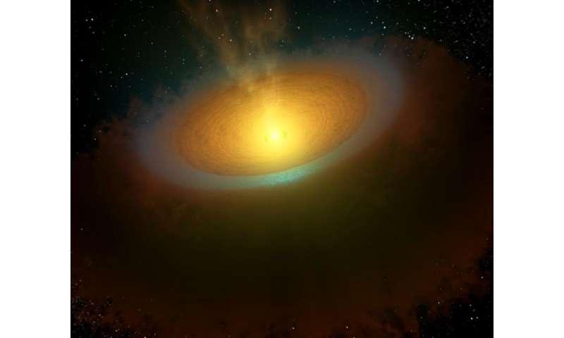 Космическая водная тропа, обнаруженная Гершелем