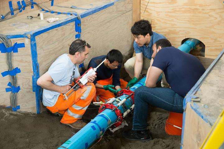 The future of our cities: Engineers test resilient, intelligent infrastructure