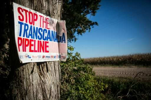 The Keystone XL pipeline would carry oil from Canadian tar sands to US refineries, but was put on hold by former president Barac