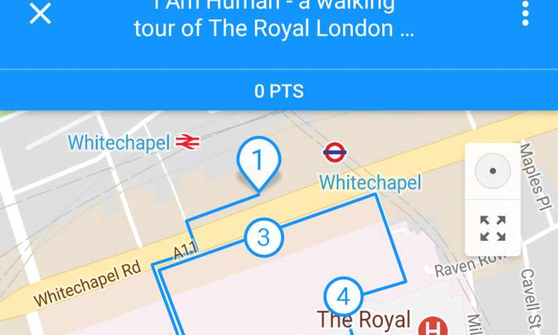 The story of the Elephant Man re-told in an immersive Whitechapel audio tour app