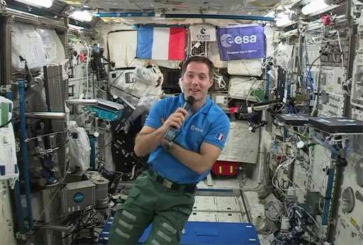 The world was a different place when Thomas Pesquet arrived on the International Space Station (ISS) on November 20 for a six-mo