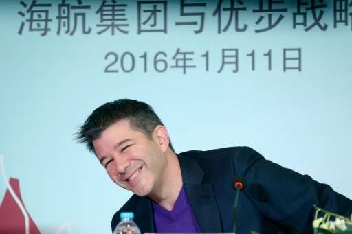Travis Kalanick, seen in a 2016 photo, resigned earlier this year as CEO of the global ridesharing service Uber, but his future