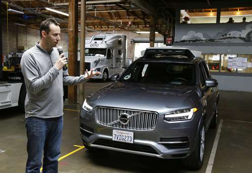 Uber self-driving car exec steps aside during Google lawsuit