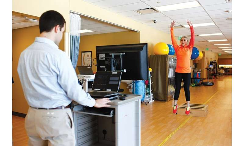 Video game system technology helping physical therapists, athletic trainers