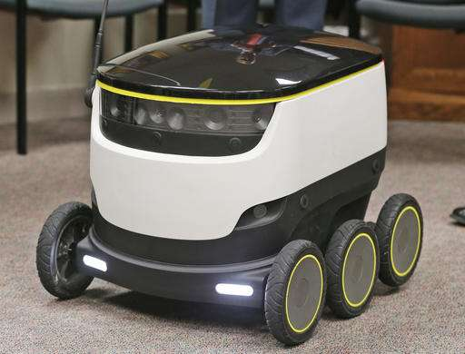 Virginia could soon get deliveries from cooler-sized robots