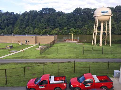 Water filtration system in West Virginia among the elite