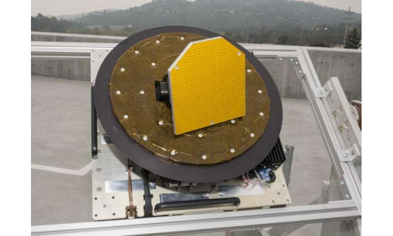 Where ocean meets sky—new NASA radar gets a tryout