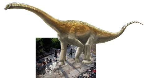 World's longest sauropod dinosaur trackway brought to light