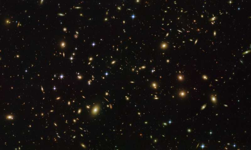 Image: Hubble's cosmic fireflies