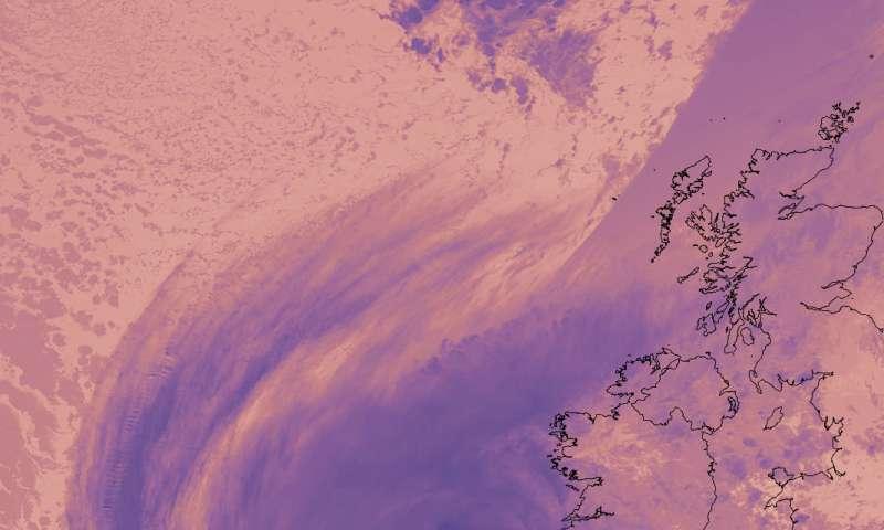 NASA sees Hurricane Ophelia lashing Ireland