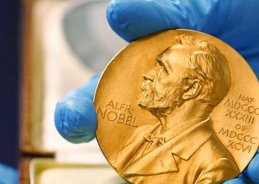 The Latest: Nobel winner says prize 'a win for human race'