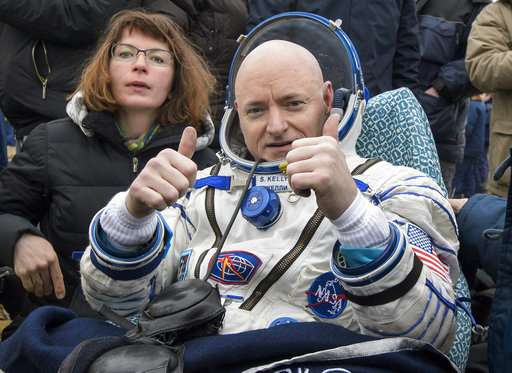US astronaut's memoir provides blunt take on year in space