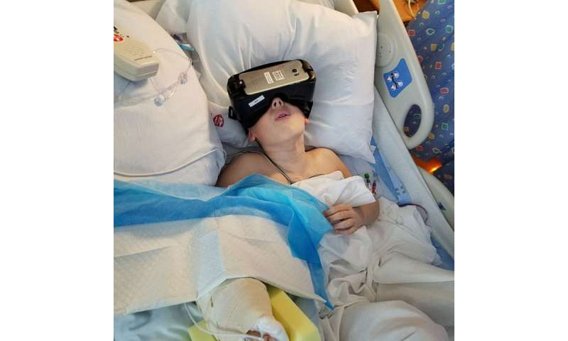 Virtual reality alleviates pain, anxiety for pediatric patients