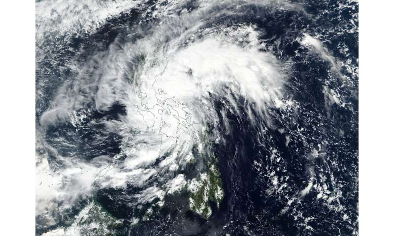 NASA-NOAA's Suomi NPP sees Tropical Depression Haikui form