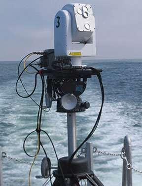 Researchers demonstrate high-bandwidth communications capability for ships