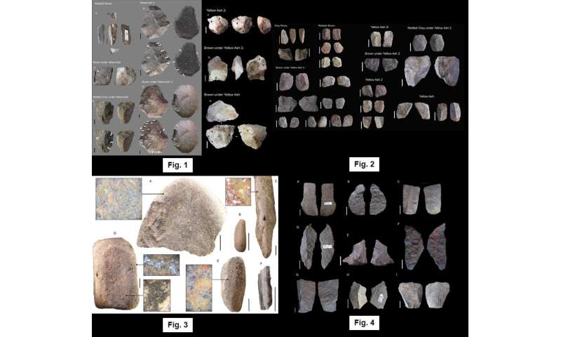 New study finds 'staying longer at home' was key to stone age technology change 60,000 years ago