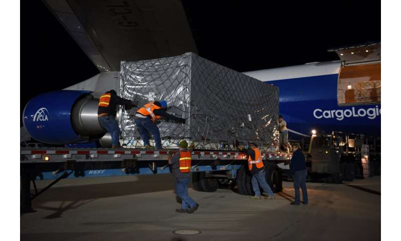 Next-generation GRACE satellites arrive at launch site