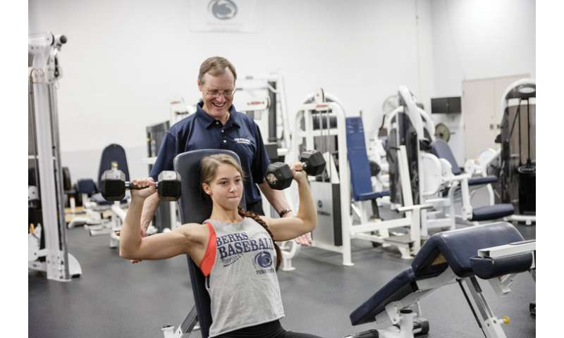Researcher studies exercise dependence in weightlifters