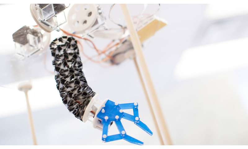 Researchers design soft, flexible origami-inspired robot