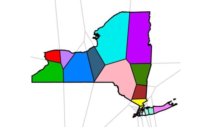 Researchers devise an algorithm to combat gerrymandering
