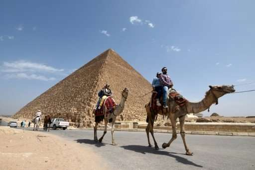 "Scientists have discovered a plane-sized ""void"" inside the Great Pyramid of Cheops, aka Pyramid of Khufu, on the south"