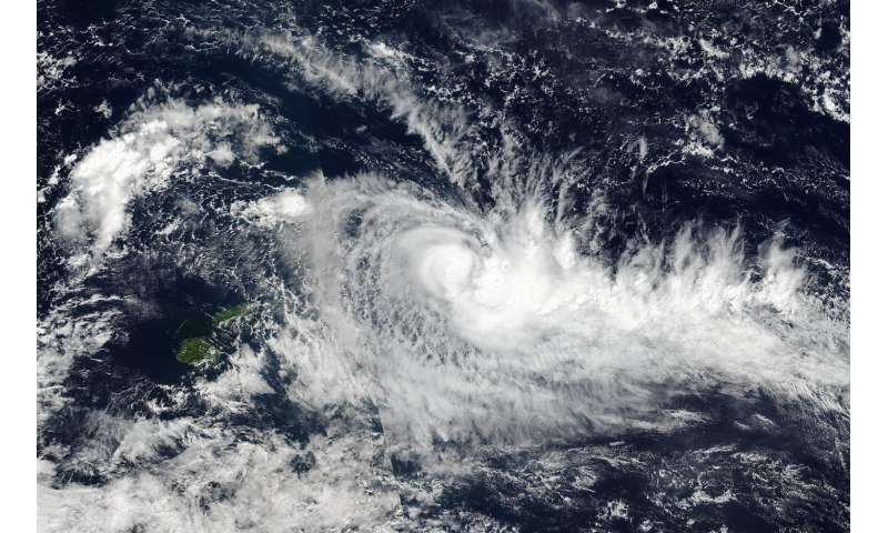 NASA sees Tropical Cyclone Ella form near Fiji