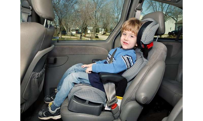 1 in 5 U.S. kids killed in crashes not restrained properly